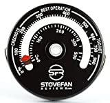 STOVEFAN 薪ストーブ・ピザ窯 温度計 マグネット式