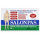 Salonpas Pain Relief Patch, Large Size, 4 patches