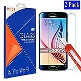 2x Samsung Galaxy S6 plt24 Ultra-Klar Glasfolie Panzerglas...