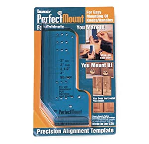 Laurey 98201 Perfect Mount Precision Allignment Template for Cabinet Hardware