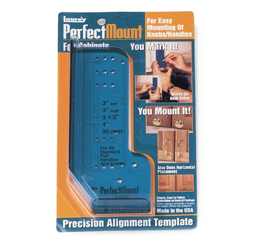 Laurey 98201 Perfect Mount Precision Allignment Template for Cabinet Hardware image
