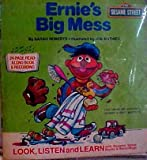 Ernie's Big Mess - Book and Record Set (Children's Television Workshop)