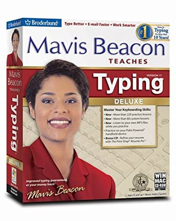 Mavis Beacon Teaches Typing Deluxe 17 - Old Version
