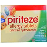 Piriteze Allergy Tablets -12 Tablets