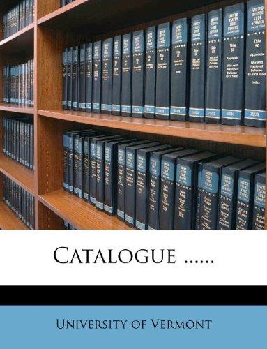 Catalogue ......