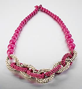 Limited Collection Link Design Beaded Necklace - Marks & Spencer   Marks & Spencer