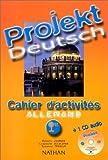 echange, troc Jourdan Robert - Projekt deutsch 1e fich.eleve+CD audio