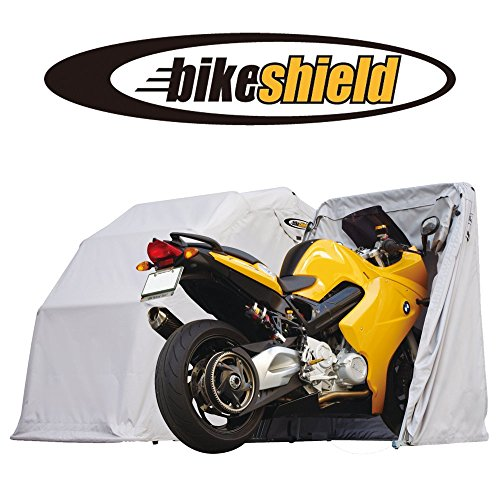 The Bike Shield Tourer (Large) Motorcycle Shelter / Storage / Cover / Tent / Garage (Motorcycle Storage Tent compare prices)