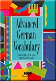 img - for Advanced German Vocabulary book / textbook / text book