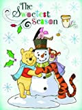 Disney Christmas Winter Themed Window Cling Decorations, Qty 1: 12'x17' (The Sweetest Season - Winnie the Pooh...