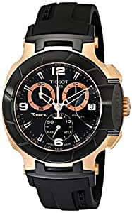 Tissot Men's T0484172705706 Rose Gold-Tone Watch with