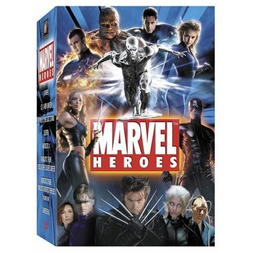 Geek Deal: Marvel Heroes DVD Collection for $28