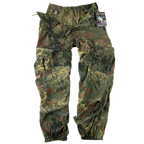 Helikon Soft Shell Pants Military Combats Mens Cargos Trousers Flecktarn Camo