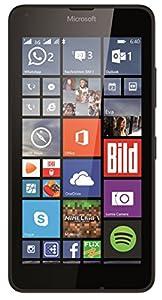 Microsoft Lumia 640 Dual-SIM Smartphone (5 Zoll (12,7 cm) Touch-Display, 8 GB Speicher, Windows 8.1) schwarz