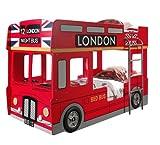 Stockbett / Etagenbett London Bus von Vipack