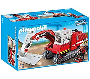 PLAYMOBIL City Action - Excavadora de Construcción - 5282