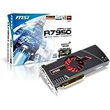 MSI AMD Radeon HD 7950 OC Boost 3GB GDDR5 DVI/HDMI 2-Mini DisplayPort PCI-Express Video Card R7950-3GD5/OC BE