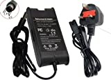 Brand New Laptop AC Adapter Power Supply Charger for DELL inspiron 6400 6000 1000 1400 1501 1525 1520 15R N5010 M5040 PA-12 PA-2E with FREE UK Mains Lead by TopTek