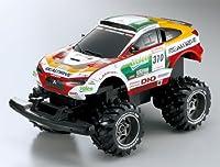 1/16 R/C REALDRIVE スーパービーム 三菱レーシングランサー 2009 ダカールラリー 増岡車