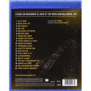 Live At Roseland Ballroom Nyc [Blu-ray]
