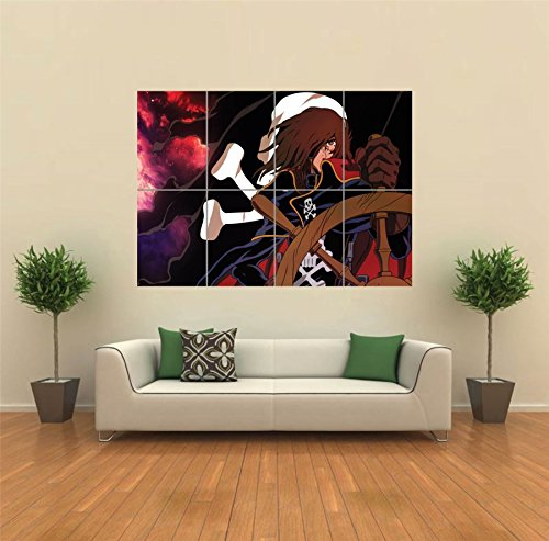 SPACE PIRATE CAPTAIN HARLOCK ENDLESS ANIME GIANT POSTER ART PRINT PICTURE G893 (Captain Space compare prices)