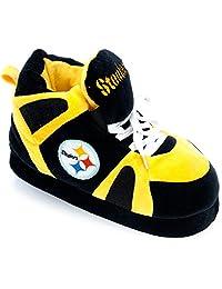 Comfy Feet NFL Sneaker Boot Slippers - Pittsburgh Steelers