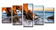 Wieco Art Red Rock Canvas Prints Mode…