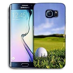 Snoogg Golf Ball Printed Protective Phone Back Case Cover For Samsung Galaxy S6 EDGE / S IIIIII
