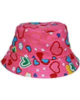 YogaColors Reversible Toddler Baby Sun Protection UPF30 Bucket Hat