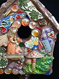 Fairy Birdhouse Dragon Mushrooms Fairy Wings Ivy