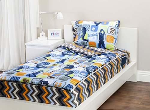 Zipit Bedding Set, Extreme Sports - Twin