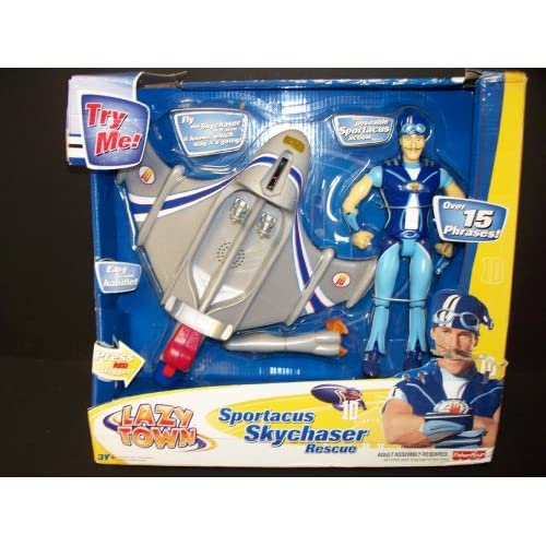 The gallery for --> Lazy Town Sportacus Airship