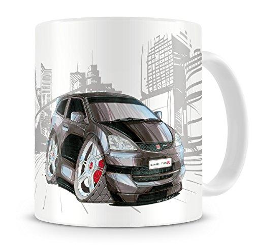 koolart-cartoon-caricature-of-honda-civic-type-r-coffee-mug