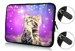 FBAps15-005 Colorfulbags ' NEW Art design cute cat 14.5