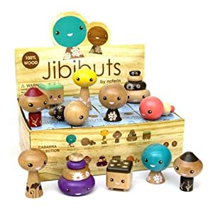 Jibibuts Wooden Blind Box Toy by Noferin (ONE Blind Box)