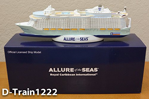 Royal Caribbean Royal Caribbean Allure Of The Seas Official Cruise Ship Model Oasis Class