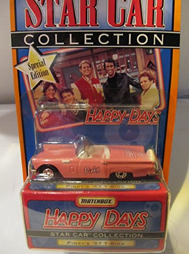Pinky's '57 T-Bird from Happy Days Matchbox Star Car Collection