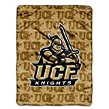 NCAA Central Florida Knight Micro Throw Blanket