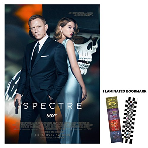 "Spectre 007 (2015) - 2 - Movie Poster Reprint 13"" x 19"" Borderless"