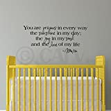 You Are Precious in Every Way the Sunshine in My Day the Joy in My Soul and the Love of My Life -Mom wall sayings vinyl lettering home decor decal stickers quotes appliques