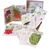 """The Container Garden"" 12 Seed Packets of Vegetables and Herbs By Botanical Interests in Gift Box"