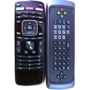 New Original VIZIO XRT302 Qwerty keyboard remote
