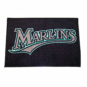 Fanmats Sports Team Logo Florida Marlins Ulti-Mat 6096 by Fanmats