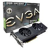 EVGA 02G-P4-3677-KR NVIDIA GeForce GTX 670 Grafikkarte (PCI-...