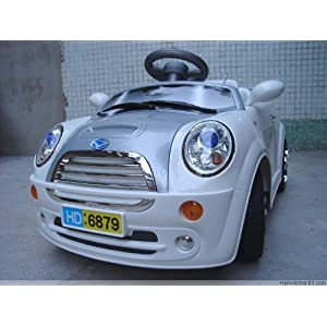 White Kids Mini Style Ride on Battery/Electric Remote Car