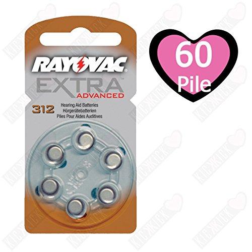 60-x-tipo-312-marrone-rayovac-extra-advanced-14-v-180-mah-pile-per-apparecchi-acustici-confezione-da