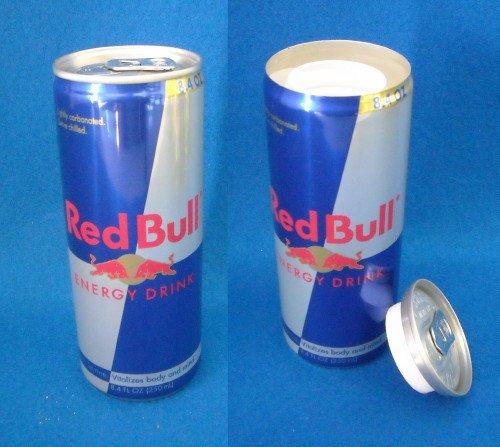 NEW POP CAN DIVERSION SAFE STASH HIDE SECRET RED BULL (Secret Soda Can compare prices)