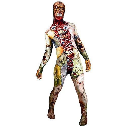 Morphsuits MorphKids Monster Facelift Zombie Childrens Costume Fancy Dress