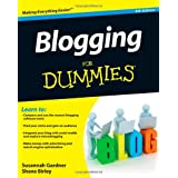 Blogging For Dummies ~ Susannah Gardner