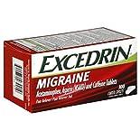 Excedrin Pain Reliever/Pain Reliever Aid, Migraine, Caplets, 100 caplets